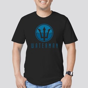 watermanlogo1 Men's Fitted T-Shirt (dark)