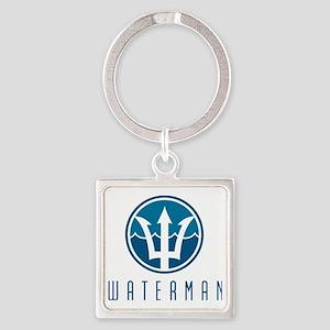 watermanlogo1 Square Keychain