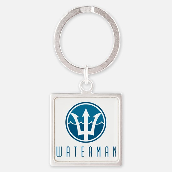 watermanlogo1 Square Keychain