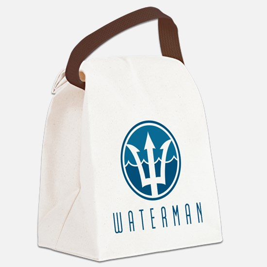 watermanlogo1 Canvas Lunch Bag