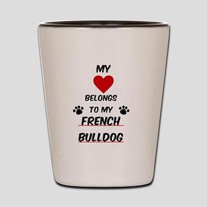 French Bulldog Shot Glass