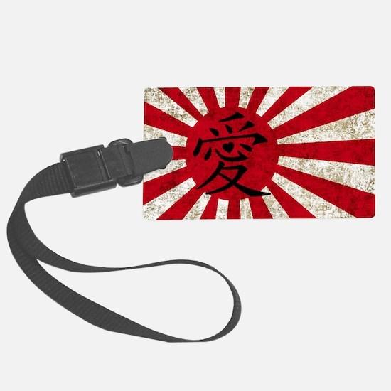 Japan Grunge 2 Luggage Tag