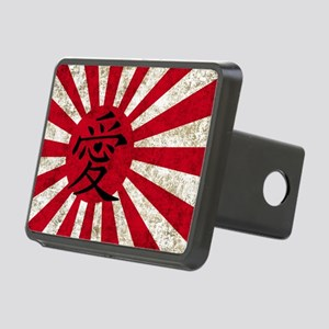 Japan Grunge 2 Rectangular Hitch Cover