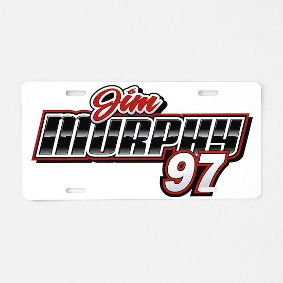 murphy_pkt Aluminum License Plate