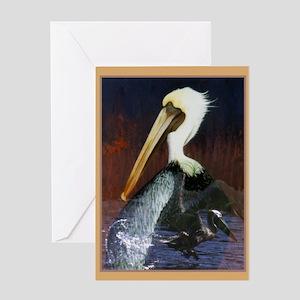 Pelican_KlineSq Greeting Card