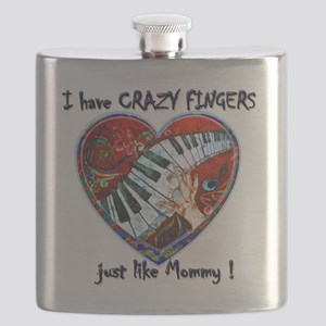 CRAZY FINGERS like Mommy Flask