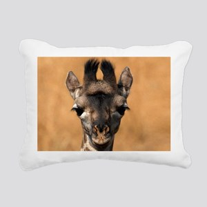 Baby Giraffe 12.1x6.1 Rectangular Canvas Pillow
