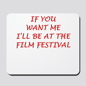 film festival Mousepad