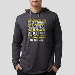 I'm A Grumpy Old Correctional Long Sleeve T-Shirt