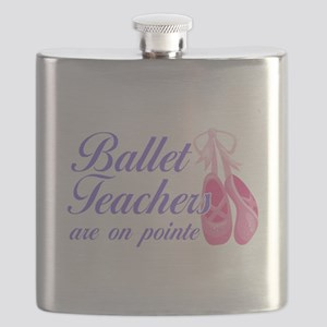 Funny Ballet Pun | Ballet Teacher Flask