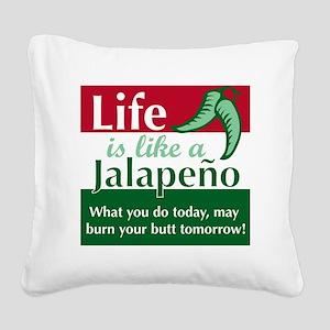 JALAPENO Square Canvas Pillow