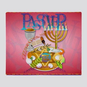 Pass Over Seder-Yardsign Throw Blanket