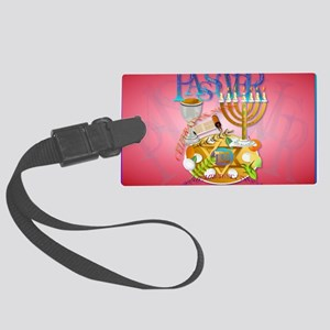 Pass Over Seder-Yardsign Large Luggage Tag