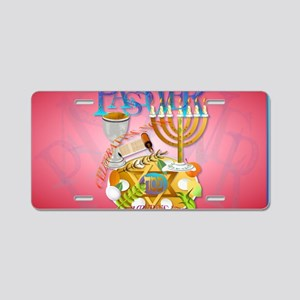 Pass Over Seder-Yardsign Aluminum License Plate