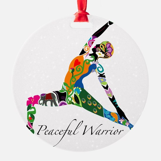 PeacefulWarriorT Ornament