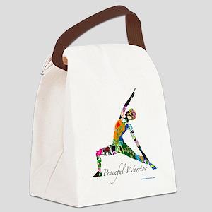 PeacefulWarriorT Canvas Lunch Bag