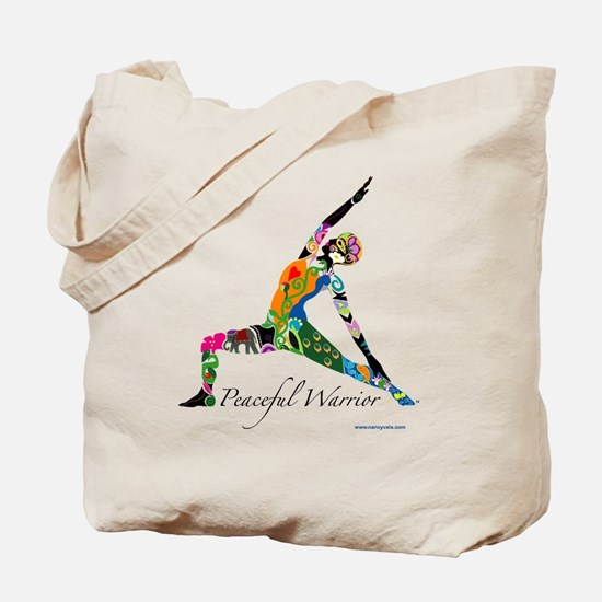 PeacefulWarriorT Tote Bag