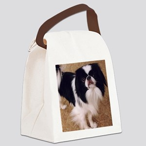 Japanese Chin Canvas Lunch Bag