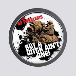 99 problems atv Wall Clock