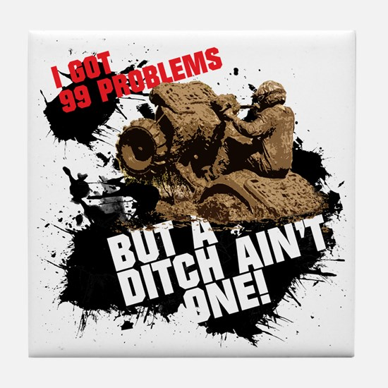 99 problems atv Tile Coaster
