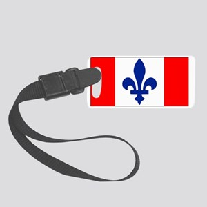 French Canadian Genealogy Small Luggage Tag