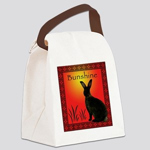 BunshineTShirt Canvas Lunch Bag