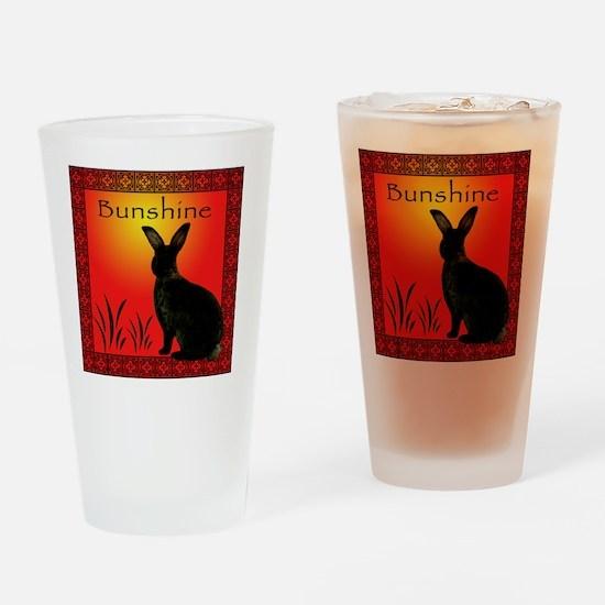 BunshineTShirt Drinking Glass