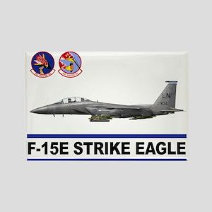 492_FS_F15_STRIKE_EAGLE Rectangle Magnet