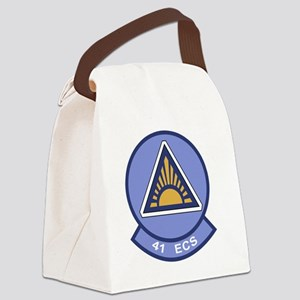 41st Electronic Combat Squadron Canvas Lunch Bag