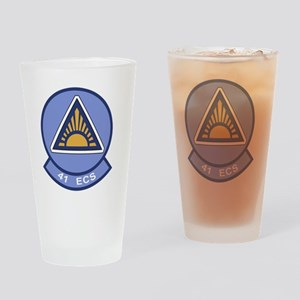 41st Electronic Combat Squadron Drinking Glass