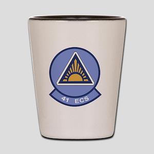 41st Electronic Combat Squadron Shot Glass