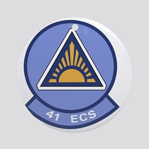 41st Electronic Combat Squadron Round Ornament
