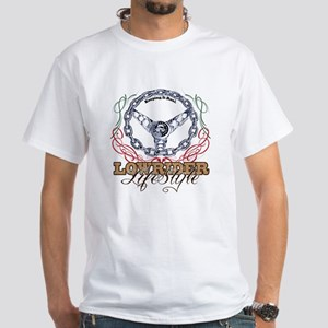 lowrider life Style White T-Shirt