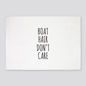 Boat Hair Dont Care 5'x7'Area Rug