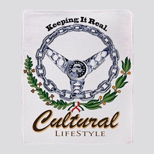 cultural lifestyle Throw Blanket