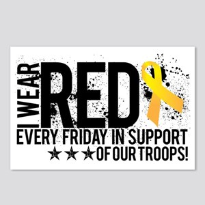 Red4OurTroops Postcards (Package of 8)