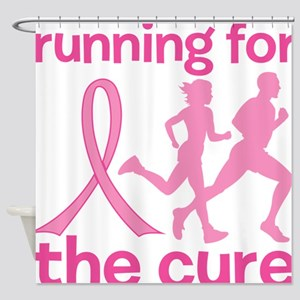 Running Cure Shower Curtain