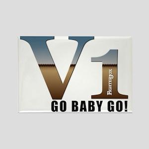 V1-gobabygo Rectangle Magnet