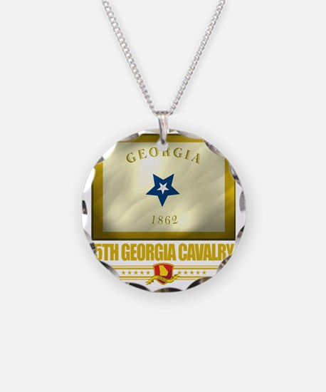 5th Georgia Cavalry (Flag 10 Necklace