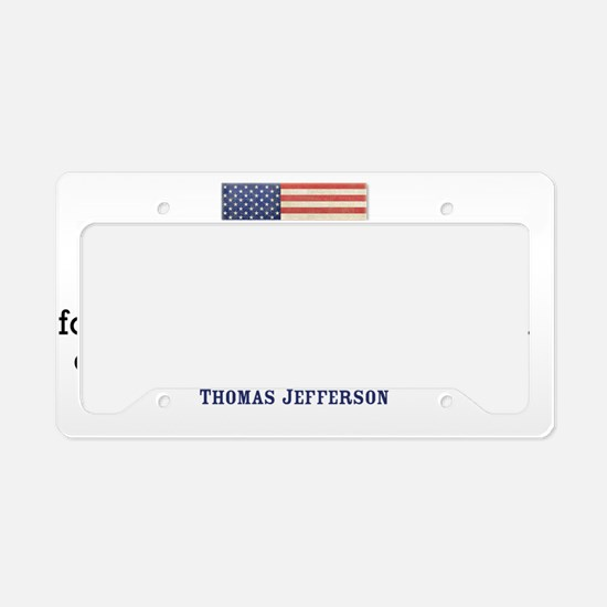license-plate_3-11_01_jeffers License Plate Holder