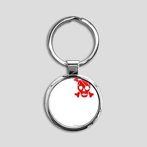Ishikawa Round Keychain