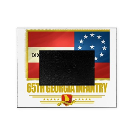 65th Georgia Infantry (Flag 10) Picture Frame