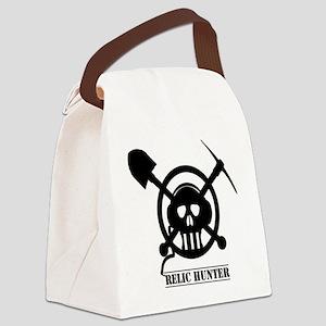 coilbones-SHADOW Canvas Lunch Bag