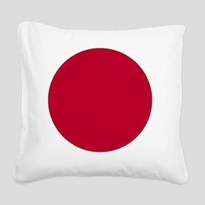 japan-flag Square Canvas Pillow