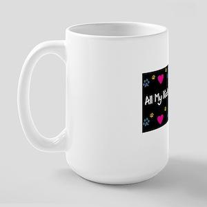 All My Kids Have Paws Large Mug