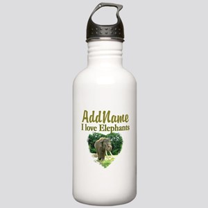 LOVE ELEPHANTS Stainless Water Bottle 1.0L