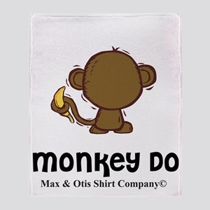 monkey-do-2 Throw Blanket