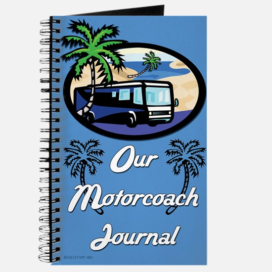 Our Motorcoach Journal (Blue)