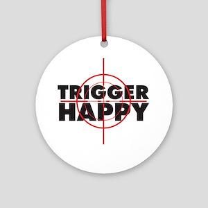 triggerhappy Round Ornament