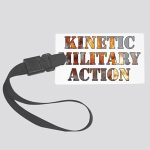 Kinetic Military Action-01 Large Luggage Tag